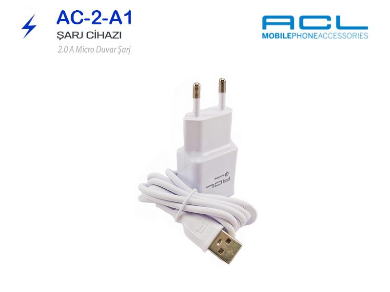 ACL Micro Hızlı Şarj Aleti-Cihazı Samsung Uyumlu 2A A1